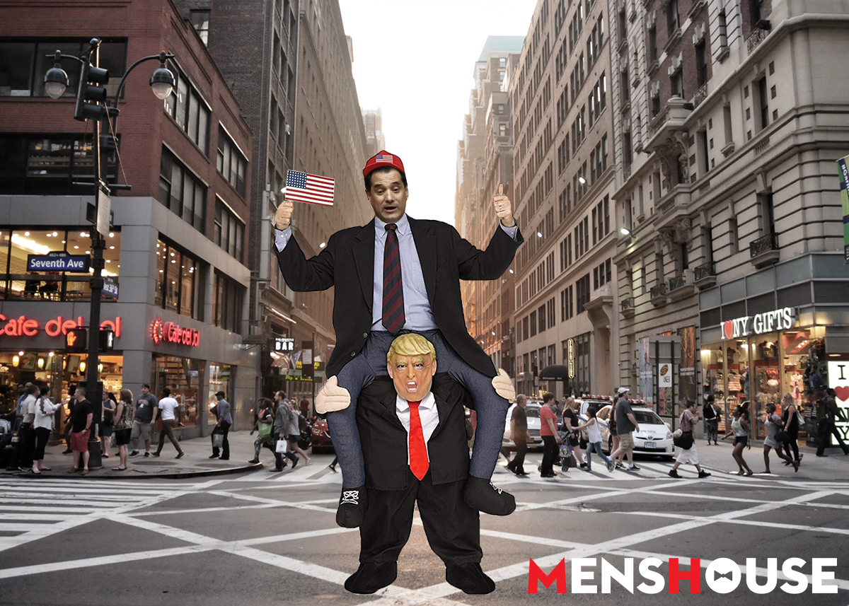 Σάστισε μέχρι και ο Τραμπ: Οι φώτο του Άδωνι στη Νέα Υόρκη που έγιναν talk of the town (pics)