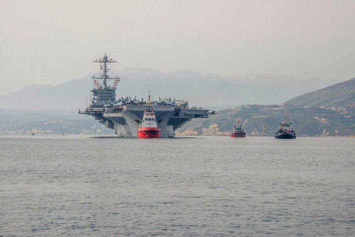 Κ-14: Το απόρρητο κρηπίδωμα της βάσης της Σούδας που την καθιστά μοναδική στη Μεσόγειο