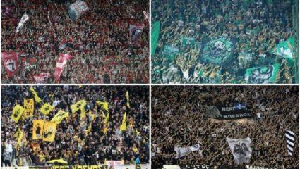 5 εξέδρες ελληνικών ομάδων που χάζεψαν γήπεδα της Ευρώπης