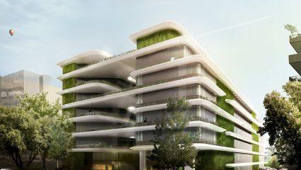 Το μεγαλεπήβολο project της Taxi Beat: Το νέο της φουτουριστικό σπίτι είναι το πιο  πράσινο κτίριο στην Αθήνα (Pics)