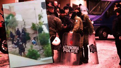 Ντοκουμέντο: Οι αμοντάριστες φωτό των ΜΑΤ στην ταράτσα στο Κουκάκι (Pics)
