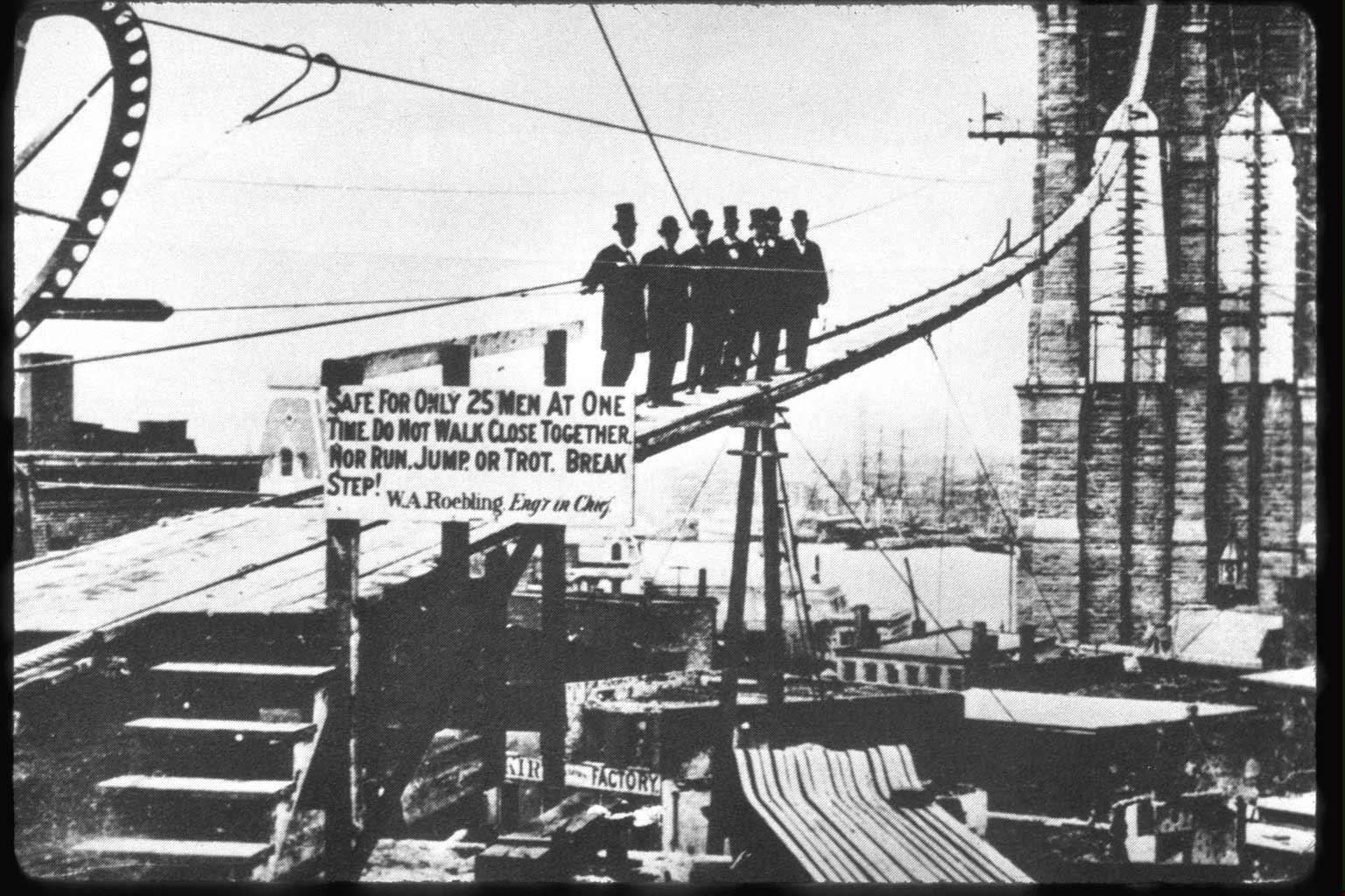 Γέφυρα του Μπρούκλιν: Είκοσι ελέφαντες, ένας κόκορας, μια κατάρα και μια γυναίκα