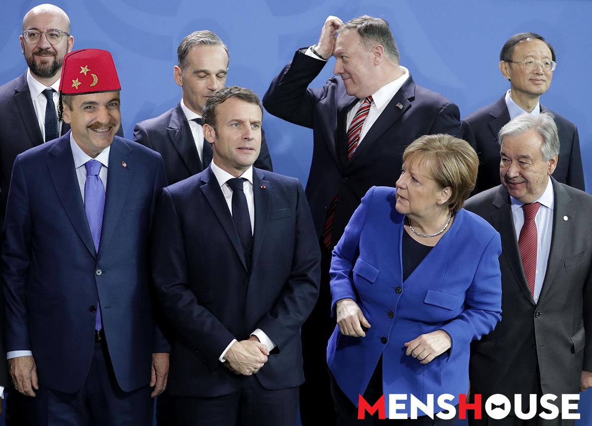 Διάσκεψη για τη Λιβύη: Και όμως ο Κυριάκος Μητσοτάκης δεν έλειπε από το Βερολίνο (Pics)