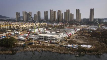 Το όγδοο θαύμα: Η εικόνα των 2 νοσοκομείων της Κίνας 5 μέρες μετά την έναρξη των εργασιών (Pics)