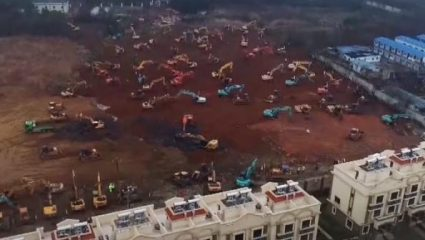 Το 'παν και το 'καναν: Δείτε ολοκληρωμένο το νοσοκομείο-θηρίο που έφτιαξαν οι Κινέζοι σε 7 μέρες (Pics)