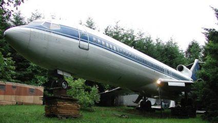 Ο γίγας των αιθέρων: Το αεροπλάνο της Ολυμπιακής που κατέληξε σε δάσος της Αμερικής (Pics)