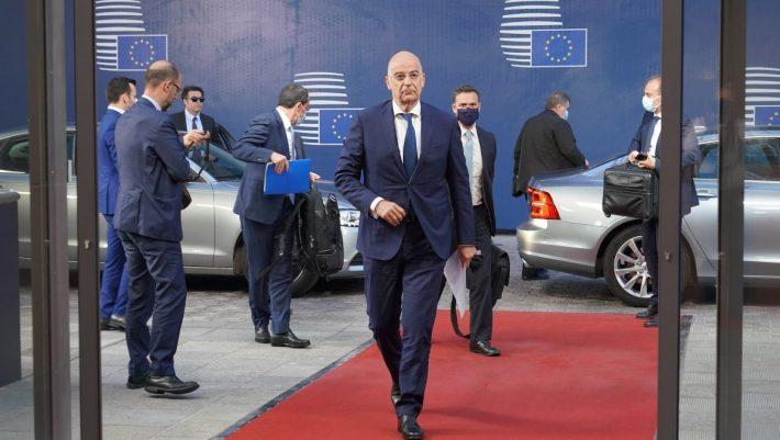 Νίκος Δένδιας: Υπήρξε συναίνεση να εκπoνηθεί κατάλογος κυρώσεων για την Τουρκία