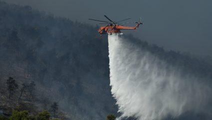 Η πυρκαγιά στις Κεχριές αναδεικνύει ξανά την καθυστερημένη πρόληψη του κρατικού μηχανισμού