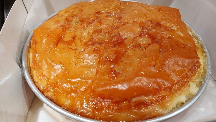 Με αυτό το γαλακτομπούρεκο στην καρδιά της Αθήνας, θα αναθεωρήσεις για το ποιο είναι το καλύτερο που έχεις φάει
