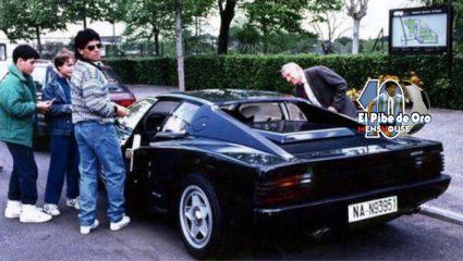 Όταν ο Μαραντόνα απαίτησε τη Ferrari του μαύρη και «την είπε» στον πρόεδρο επειδή δεν είχε… ραδιόφωνο