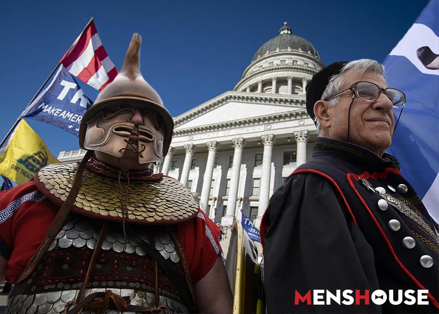 Οι άγνωστοι Έλληνες εισβολείς του Καπιτωλίου που δεν έδειξαν οι κάμερες (Pics)