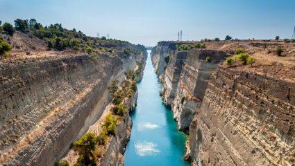 Διολκός: Το ευφυές τέχνασμα των αρχαίων Ελλήνων για να περνούν τα πλοία τον Ισθμό της Κορίνθου