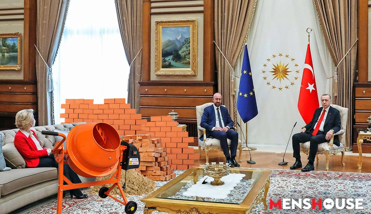 Την εξέθεσε: Ο Ερντογάν δημοσιεύει τις πραγματικές φωτό με την Ούρσουλα Φον ντερ Λάιεν και κλείνει στόματα (Pics)