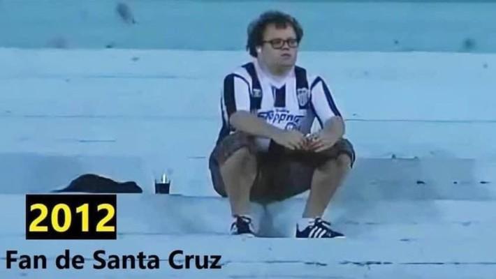 Ο οπαδός που καθόταν μόνος στην εξέδρα της ομάδας του και έφτασε να σηκώσει Κύπελλο ως πρόεδρος!