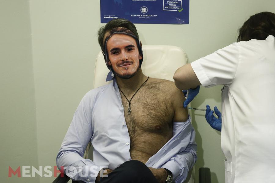 Σποτ υπέρ του εμβολιασμού: Τα ντοκουμέντα που δείχνουν ότι ο Στέφανος Τσιτσιπάς θα εμβολιαστεί