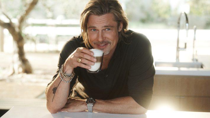 O Brad Pitt γίνεται ο Brand Ambassador της De'Longhi και μας καλεί για καφέ στο... Hollywood!